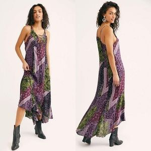 NWT Free People Work of Art Maxi Dress